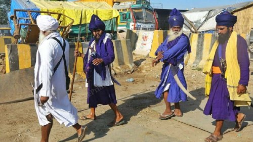 Who are Nihang Sikhs? Sect accused of Sikh man's 'sacrilege' lynching at Singhu