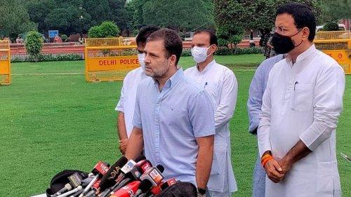 'It's resolved', says Rahul Gandhi on Punjab Congress infighting