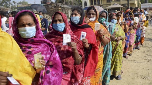 78.36 per cent voter turnout till 5 pm in 5th phase of West Bengal polls