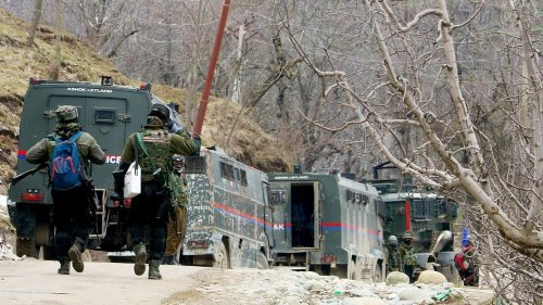 Two militants killed in encounter with security forces in J&K's Shopian district
