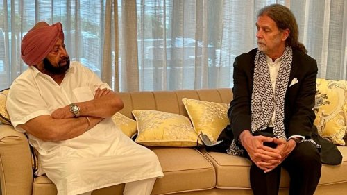 German envoy Walter J Linder calls on Amarinder Singh to discuss investment opportunities