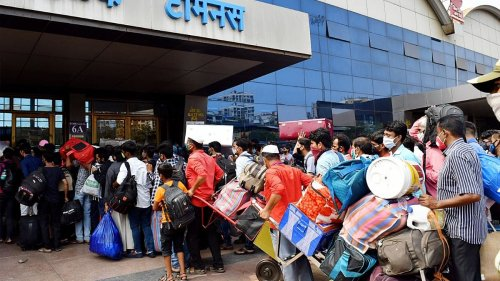A second exodus, though smaller, shows why Mumbai's migrant workers are still vulnerable