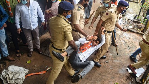 BJP, Shiv Sena workers clash over 'offensive' Saamana editorial on Ram Mandir land deal