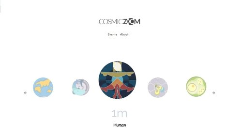 How vast is the universe? 'Cosmic Zoom' helps you explore this from the comfort of your mobile