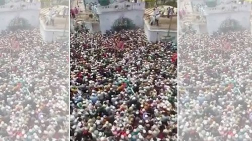 UP Police file FIR, form team to probe how thousands gathered for Budaun cleric's funeral