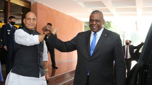 Rajnath Singh speaks to US Defence Secretary Lloyd Austin ahead of PM Modi's visit to US