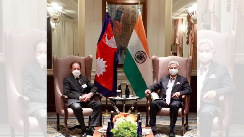 Jaishankar agrees to take India-Nepal alliance forward in meeting with Nepalese counterpart