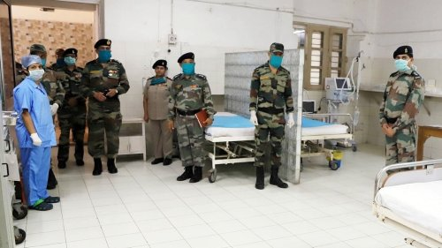 Nearly 15% Covid beds in select military hospitals could be made available to civilians