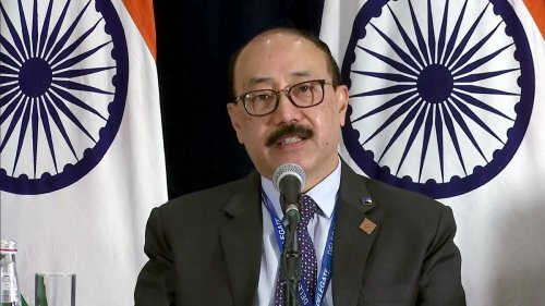 Peace & tranquillity in border areas an essential condition, Foreign Secy Shringla tells China