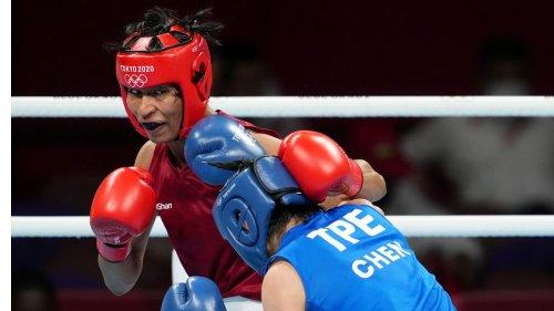 India's Lovlina Borgohain beats former world champion, enters boxing semifinals at Olympics