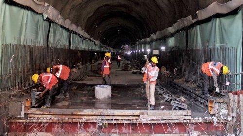 Under creaky buildings & rail lines, near the sea — how Mumbai underground Metro is taking shape