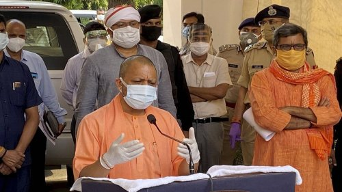 CM Yogi orders patrolling by police, SADF in UP to prevent disposing of bodies in rivers