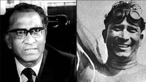 Mihir Sen, Asia's first English Channel swimmer in 1958 who was targetted by Jyoti Basu