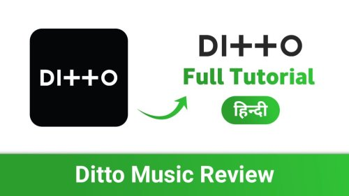 Ditto Music Distribution: Release Your Music On 150+ Music Streaming Platforms