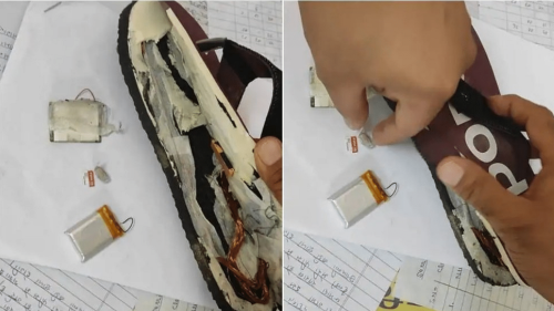 Students Cheat in REET Exams Using 'Bluetooth Slippers', Held by Police