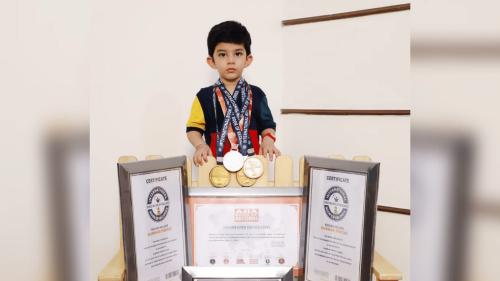 3-Year-Old Ludhiana Kid Creates Record for Brilliant Memory