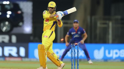 Off-Colour MS Dhoni Falls for Second Ball Duck