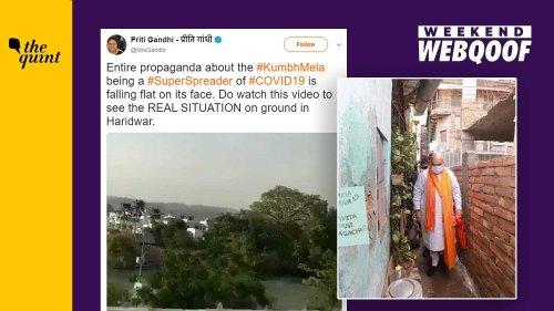 WebQoof Recap: Of Misinformation on Kumbh Mela & West Bengal Polls