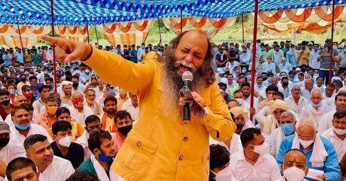 Karni Sena Chief Suraj Pal Amu Named Haryana BJP Spokesperson
