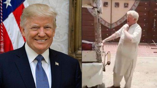 Watch: Donald Trump's Lookalike Spotted Selling Kulfi in Pakistan