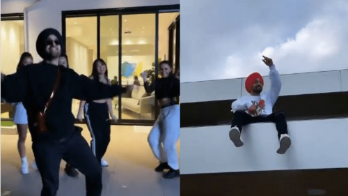 Watch: Diljit's Video 'Vibing' to Dhee & Arivu's Enjoy Enjaami