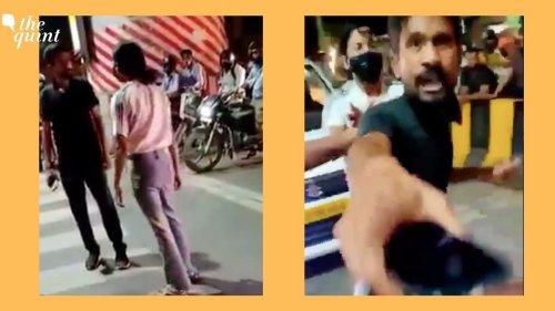Video of Lucknow Woman Thrashing Man Goes Viral, FIR Registered