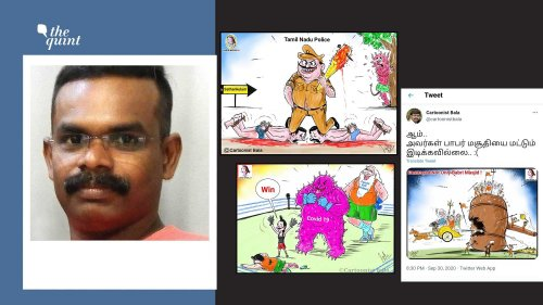 Cartoonist Bala Receives Twitter Notice, Vows to Not Stop Drawing