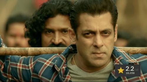 Salman's Radhe Becomes One of His Worst Rated Films on IMDb