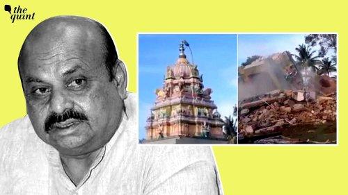 Mysuru Temple Demolition: Why is Karnataka CM Bommai Facing Right-Wing Heat?