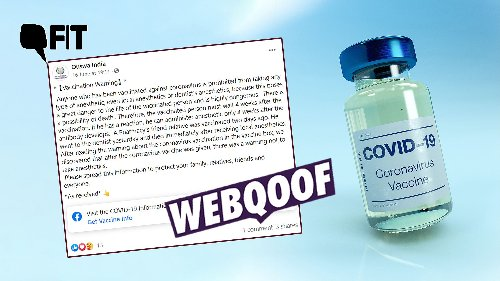 No Evidence of Risks in Taking Anaesthesia After COVID-19 Vaccine