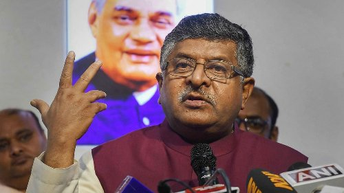 Law Minister RS Prasad Denied Access to Twitter for Almost an Hour