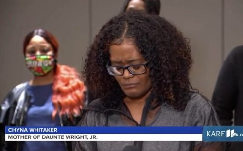 """Chyna Whitaker, mother of Daunte Wright's 1-year-old son Daunte Jr.: """"I really don't want to do this by myself."""""""