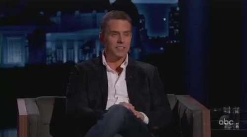 """Hunter Biden appears on Jimmy Kimmel Live, says his laptop is a """"red herring."""" Kimmel zings him pretty good."""