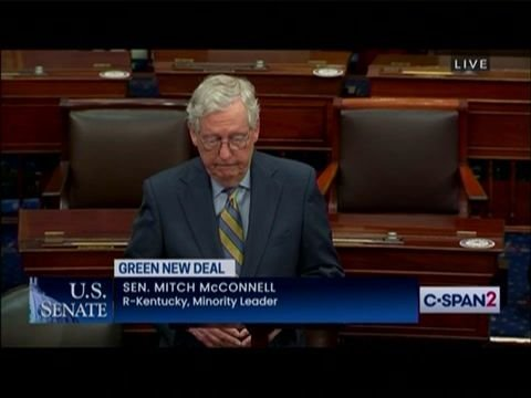 "Senate Minority Leader Mitch McConnell on Earth Day: ""Democrats' zeal for imposing costly environmental agendas ..."""