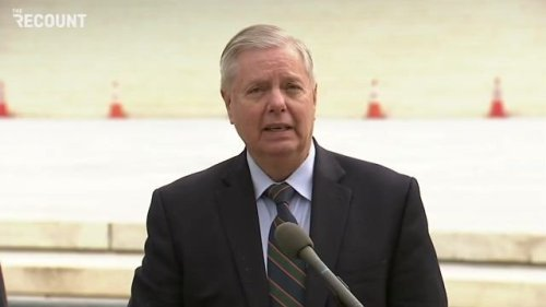 Sen. Lindsey Graham (R-SC) thanks Sen. Kyrsten Sinema (D-AZ) and Sen. Joe Manchin (D-WV) for upholding the filibuster.