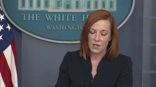 """Press Sec. Psaki calls out Republicans for talking about the border but not """"putting forward solutions."""""""