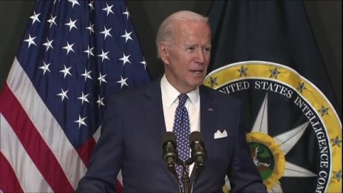 """President Biden to intelligence community on Putin: """"You're better than his team, and it bothers the hell out of him."""""""