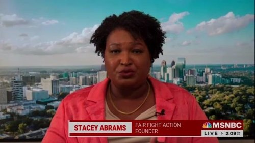 """Stacey Abrams says Republicans are """"betting on a quiet summer"""" and that's why she's """"pushing for a Hot Call Summer."""""""