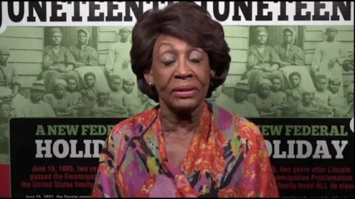 """Rep. Maxine Waters (D-CA) on Republican efforts to restrict the right to vote: """"It's a step backward."""""""
