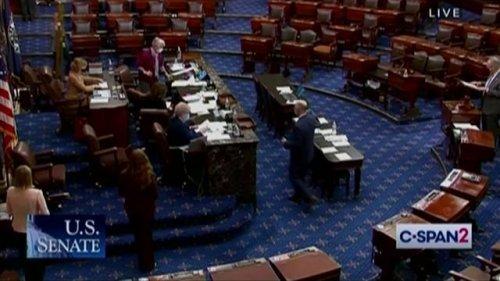 Senate confirms Vanita Gupta as Associate Attorney General in a 51-49 vote.