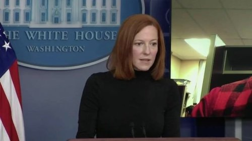 WH Press Sec. Psaki announces she will start taking questions from regional reporters who do not live in D.C.