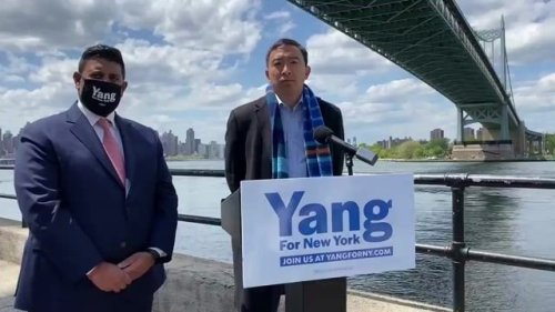 Andrew Yang cancels event after organizers asked him not to come. He says he believes it's because of pro-Israel tweet.