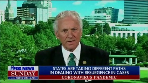 """Gov. McMaster (R-SC): """"We have put the fire out. It's smoldering in places ... but the house is not on fire again."""""""