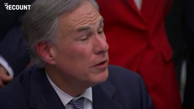 """Gov. Greg Abbott (R-TX): """"I'm focused on the humanitarian crisis that *Texans* are suffering through..."""""""