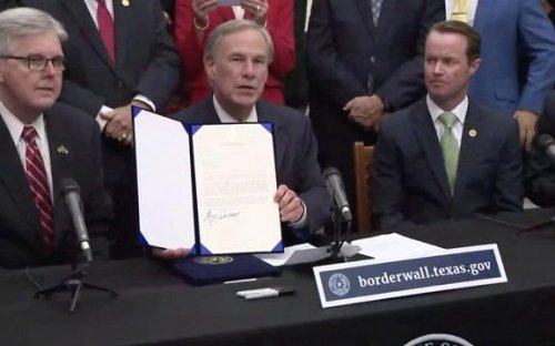 """ICYMI: Gov. Greg Abbott (R-TX) allocates $250 million in state funds as a """"down payment"""" for border wall."""