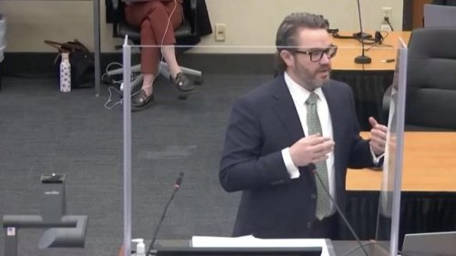 """Defense attorney Nelson compares """"elements"""" of a criminal case to baking chocolate chip cookies in his closing argument."""