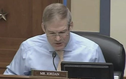 "Rep. Jim Jordan (R-OH) goes after Hillary Clinton during Capitol insurrection hearing: ""Was the 2016 election stolen?"""