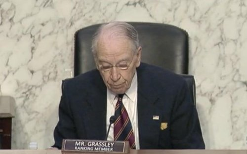 """Sen. Grassley (R-IA): """"Baseless claims of voter suppression are just as corrosive... as baseless claims of voter fraud."""""""