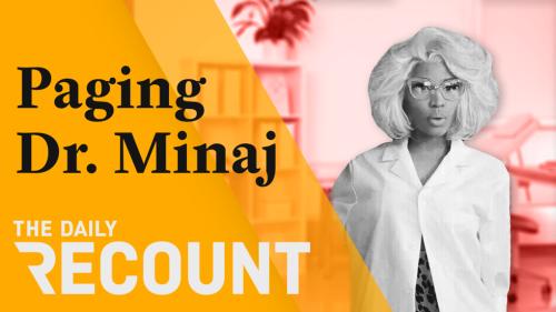 Nicki Minaj's Vaccine Research Is Not Going Well