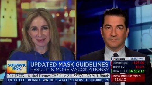 """Former FDA Commissioner Gottlieb: U.S. trajectory improving so quickly, """"by June, nobody is going to be wearing masks."""""""